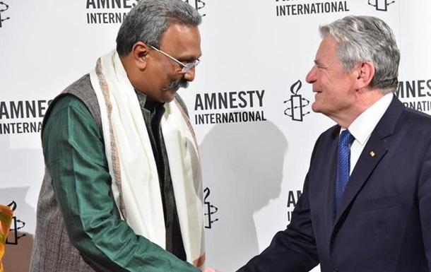 Премию от Amnesty International получил правозащитник из Индии