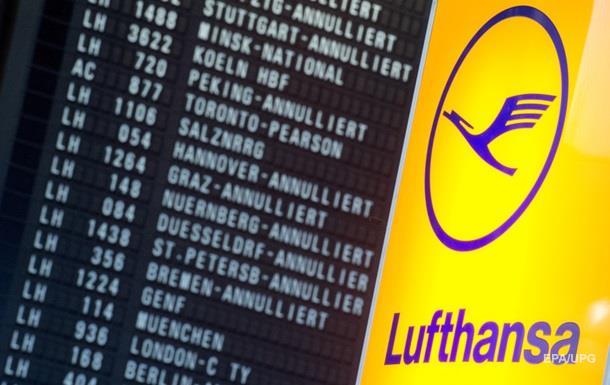 Lufthansa может отменить рейсы из-за забастовок