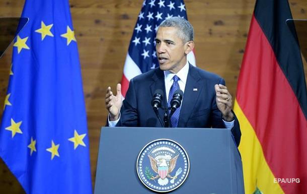 Обама: Путин хочет подорвать европейское единство