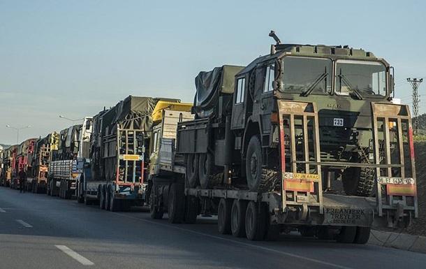 Турция направила на Сирию ракетные установки
