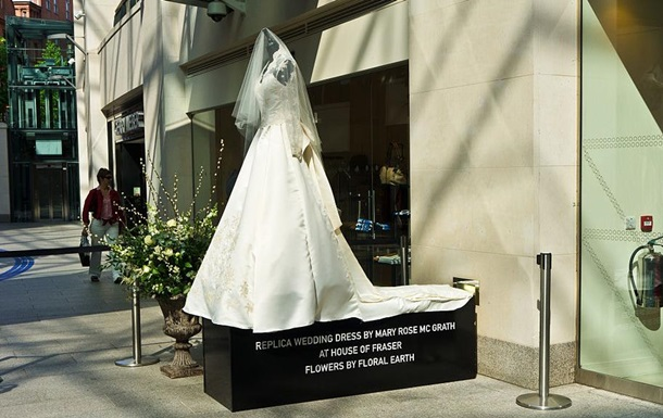 Создателей свадебного платья Кейт Миддлтон обвинили в плагиате