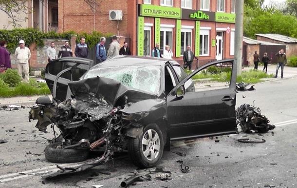 В Кировограде столкнулись сразу четыре авто: есть пострадавшие