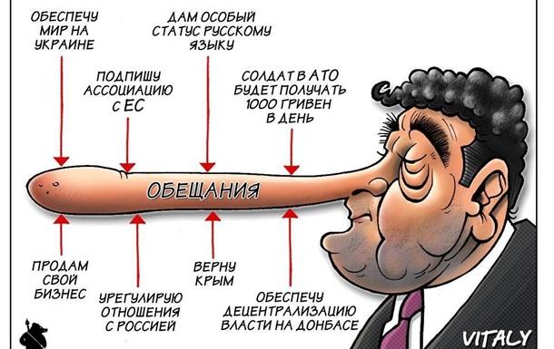 «Президент, который обещает: чего не выполнил Порошенко» - BBC