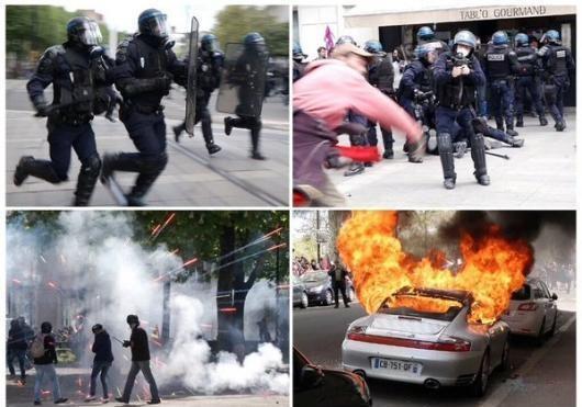 Во что выливается отрыв власти от народа - современная французская революция 28.