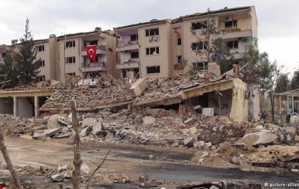 В Турции курдские боевики атаковали военных