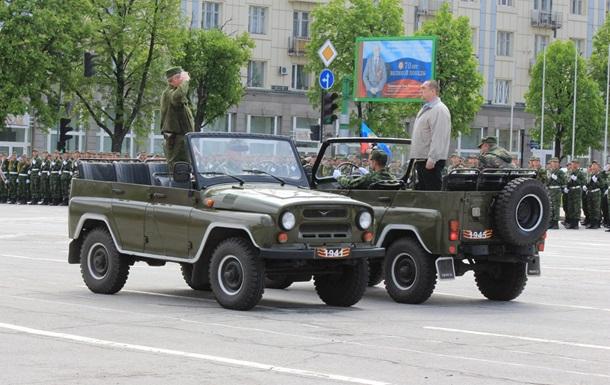 На параді в ЛНР обіцяють понад 70 одиниць техніки