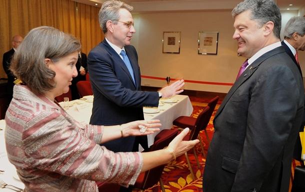 Как Виктория Нуланд проводит операцию  Принуждение к миру  для Порошенко и Ко