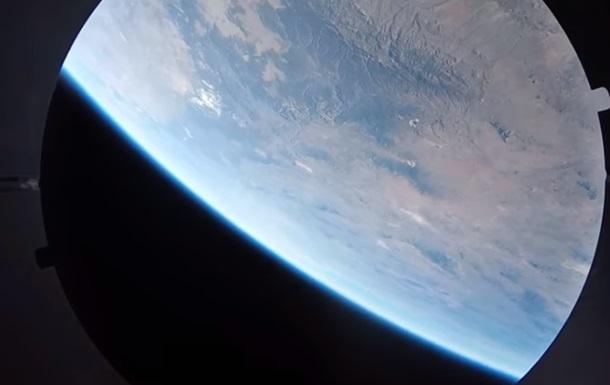Камеры GoPro сняли полет ракеты в космос