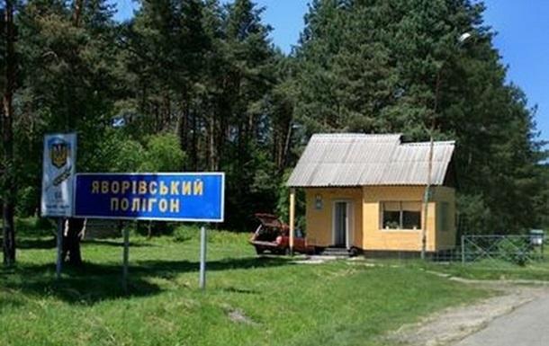 На Яворовском полигоне погиб военный