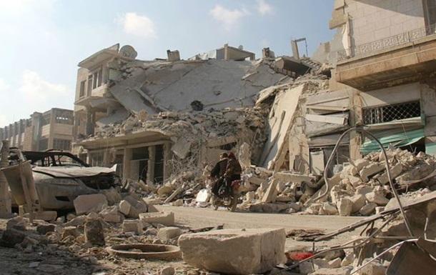 Десятки человек погибли при авиаударе по Сирии