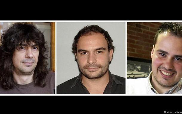 Три испанских репортера, похищенных вСирии втекущем году, освобождены