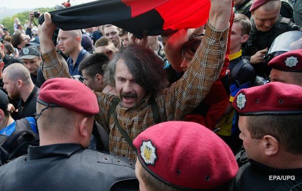 День Победы в Украине: задержаны около ста человек