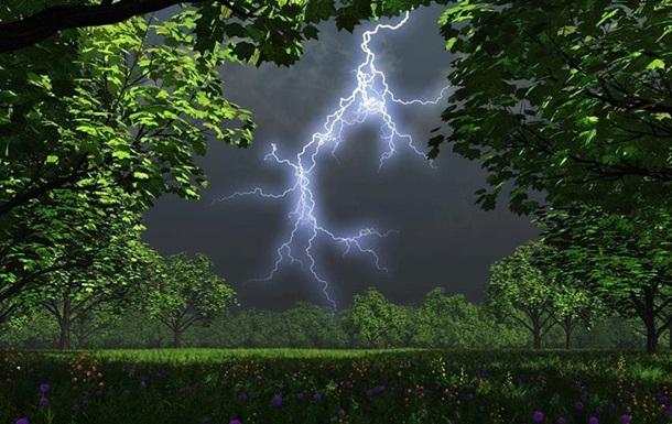 По Киевской области объявлено штормовое предупреждение