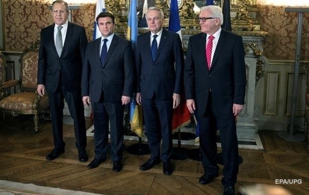 В Берлине заседают главы МИД  четверки