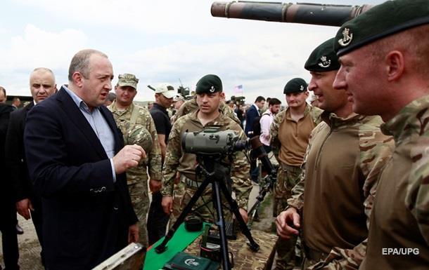 В Грузии начались совместные учения с НАТО
