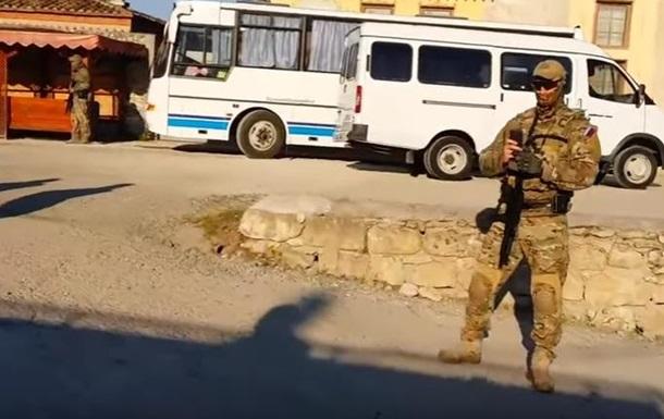 Обыски татар в Бахчисарае