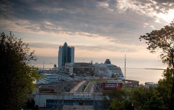 В Одессу зашел первый круизный лайнер в этом году