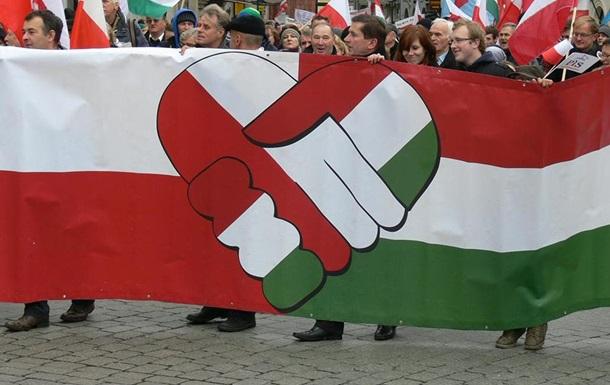 Экономика Польши и Венгрии падает впервые с 2012 года