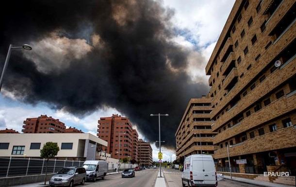 Столицу Испании накрыло токсичное облако