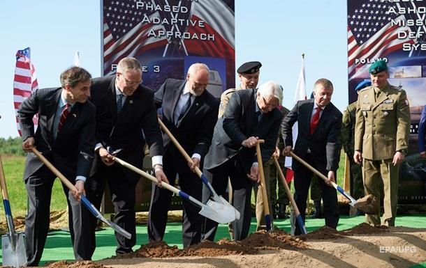 В Польше начали строительство ракетной базы США