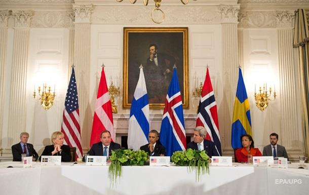 Саммит северных стран в США поддержал санкции против РФ