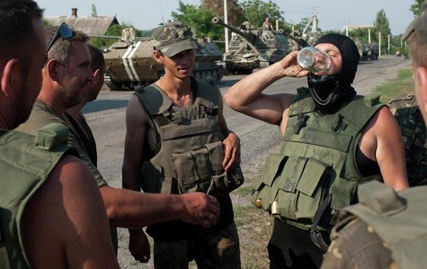 Главная причина гибели украинских военных - «зеленый змий»