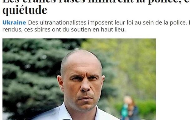 Владимир Карасёв: Европейские СМИ обвинили МВД Украины в нацизме.