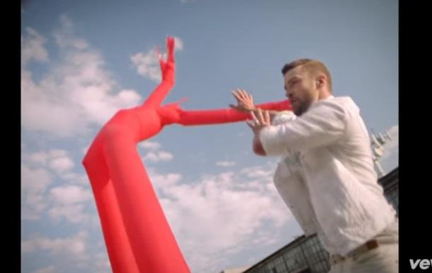 Новый клип Джастина Тимберлейка стал хитом