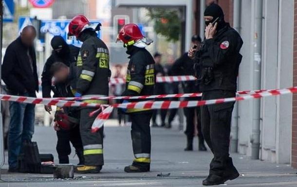 В Польше прогремел взрыв на автобусной остановке