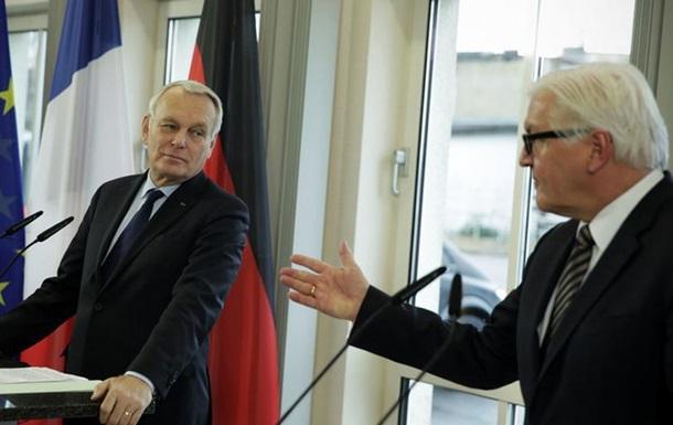 Німеччина й Франція хочуть розмови НАТО з Росією