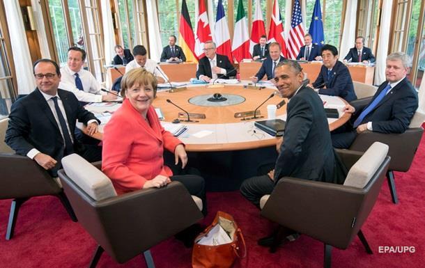 Германия против возвращения России в G8