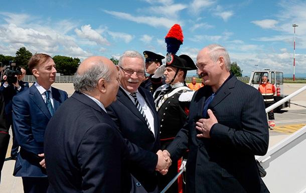 Лукашенко впервые прибыл в ЕС после снятия санкций