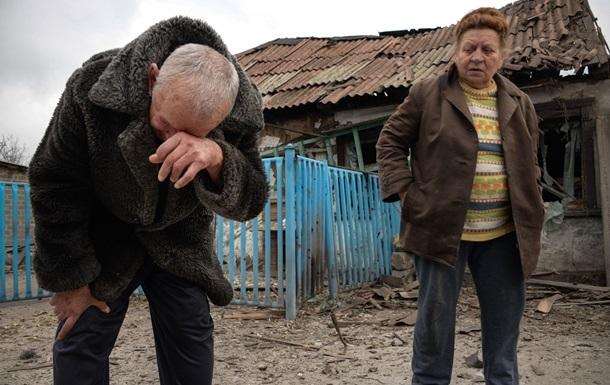 При обстреле Авдеевки ранена местная жительница