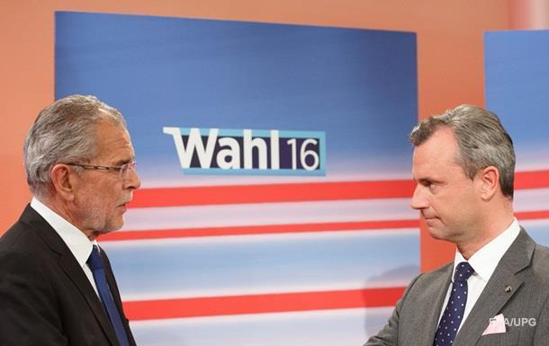 Президентские выборы в Австрии не выявили лидера гонки