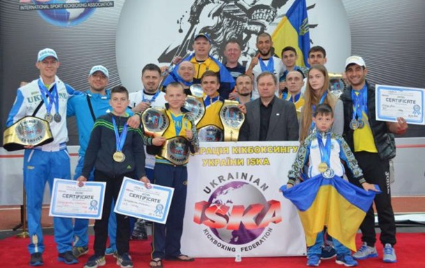 Украинцы завоевали 29 наград на Чемпионате Мира по кикбоксингу
