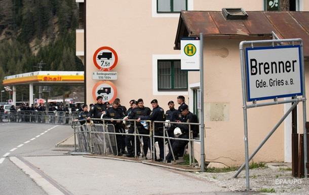 Австрия усиливает контроль на границе с Италией