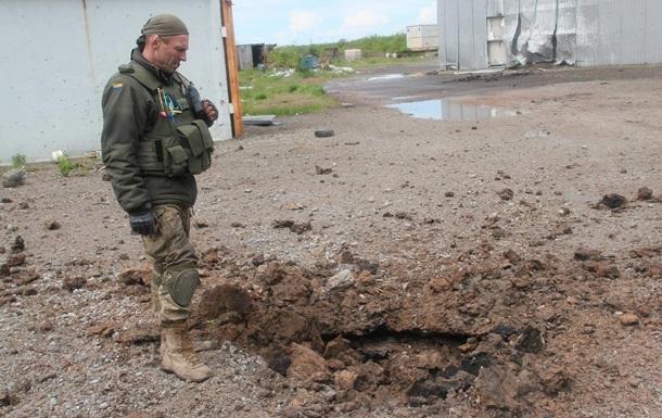 Военные показали самую горячую точку АТО