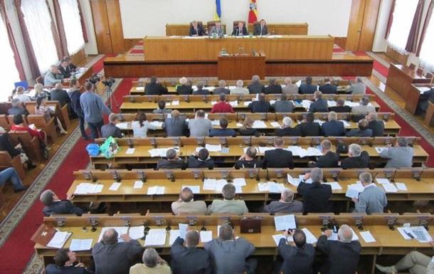 Житомирские депутаты поддержали договорные отношения регионов с Киевом