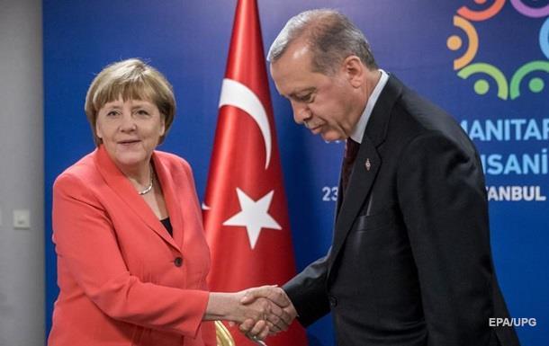 Меркель поставила условие Эрдогану для отмены виз