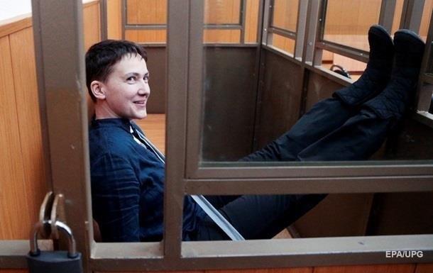 Самолет с Савченко приземлился в Украине