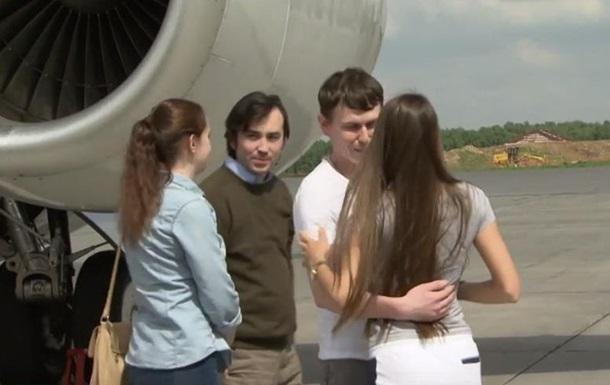 Видео возвращения российских спецназовцев
