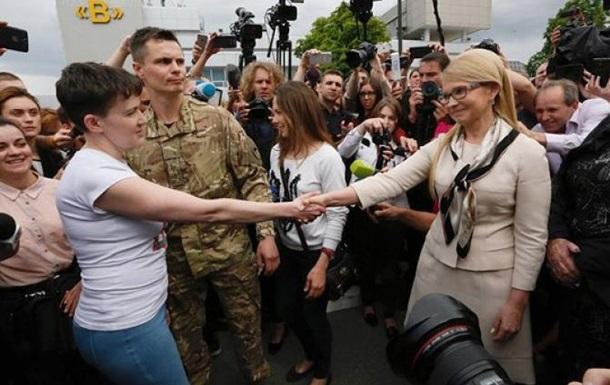 Савченко как атомная энергия в украинской политике