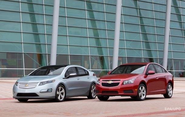 GM отзывает два миллиона автомобилей в Китае