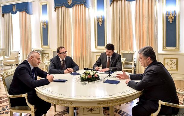 Порошенко пообещал бороться за Карпюка и Клыха