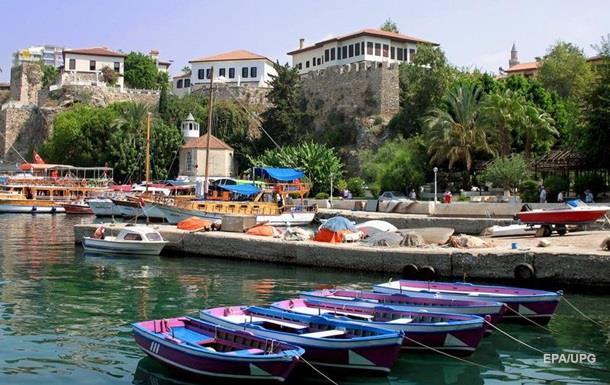 В Турции сильнейший за 17 лет отток туристов