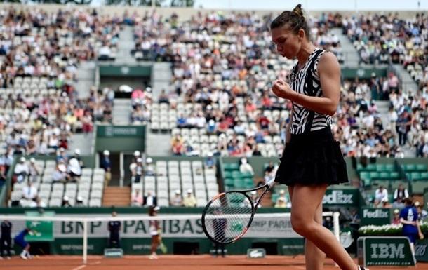 Ролан Гаррос (WTA). Сенсационное поражение Квитовой, Мугуруса, Халеп, Бегу,