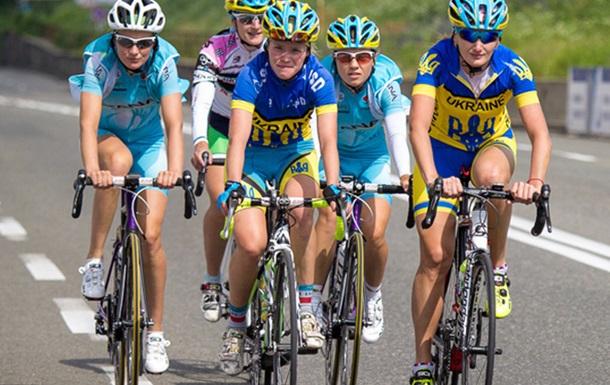 Украинки заняли весь подиум женской велогонки
