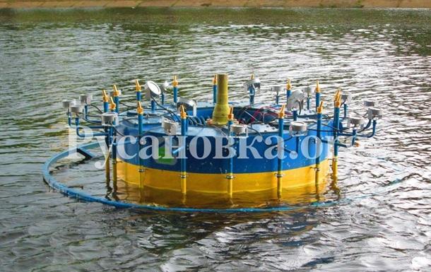 Открытие фонтанов на Русановке. Киев 28.05.2006