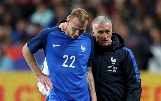 Матье пропустит Евро-2016