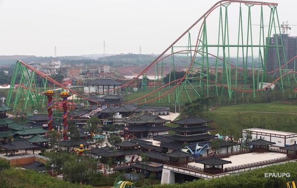 В Китае открылся конкурент Диснейленда